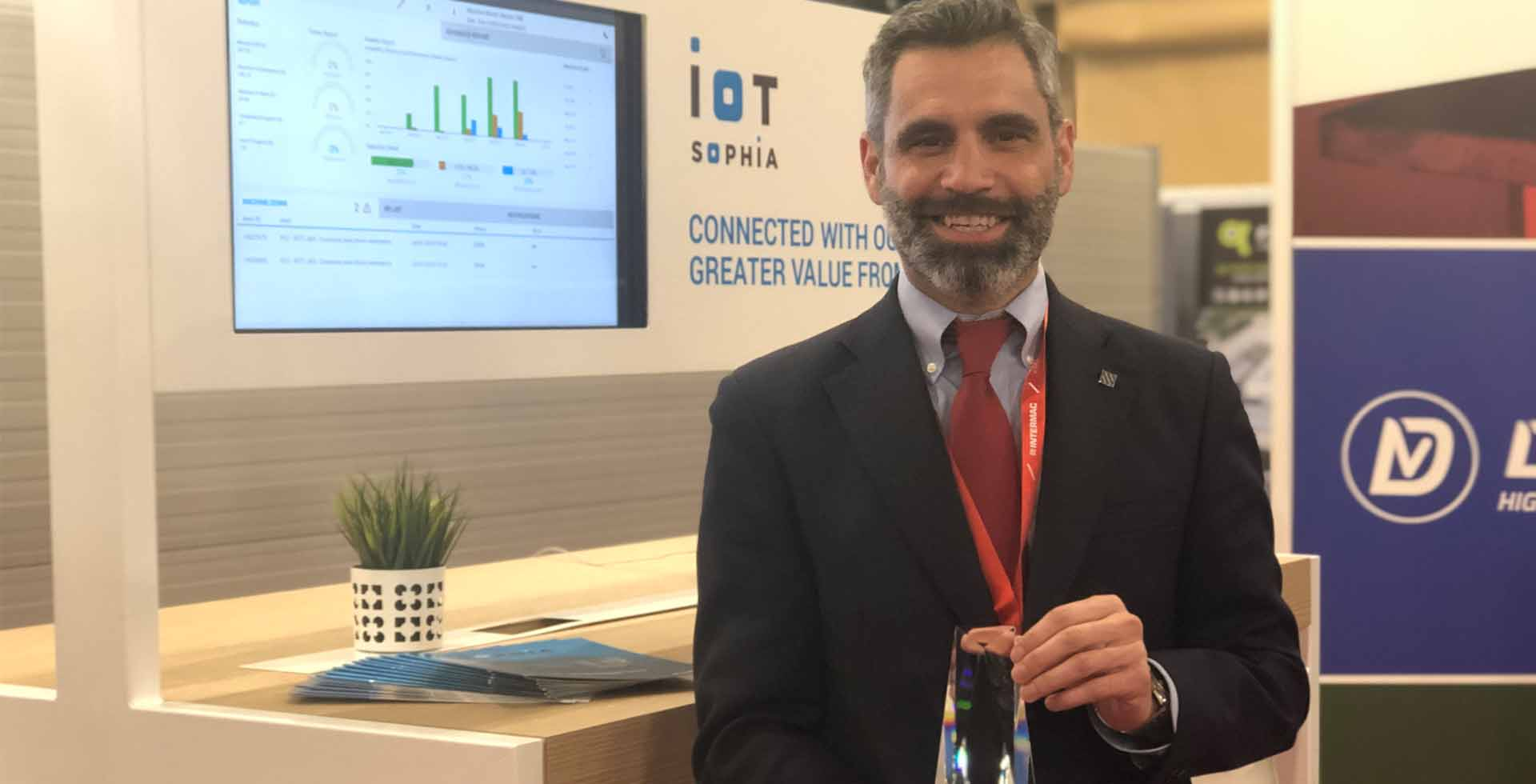 Intermac Wins TISE Best Product Award for SOPHIA IoT